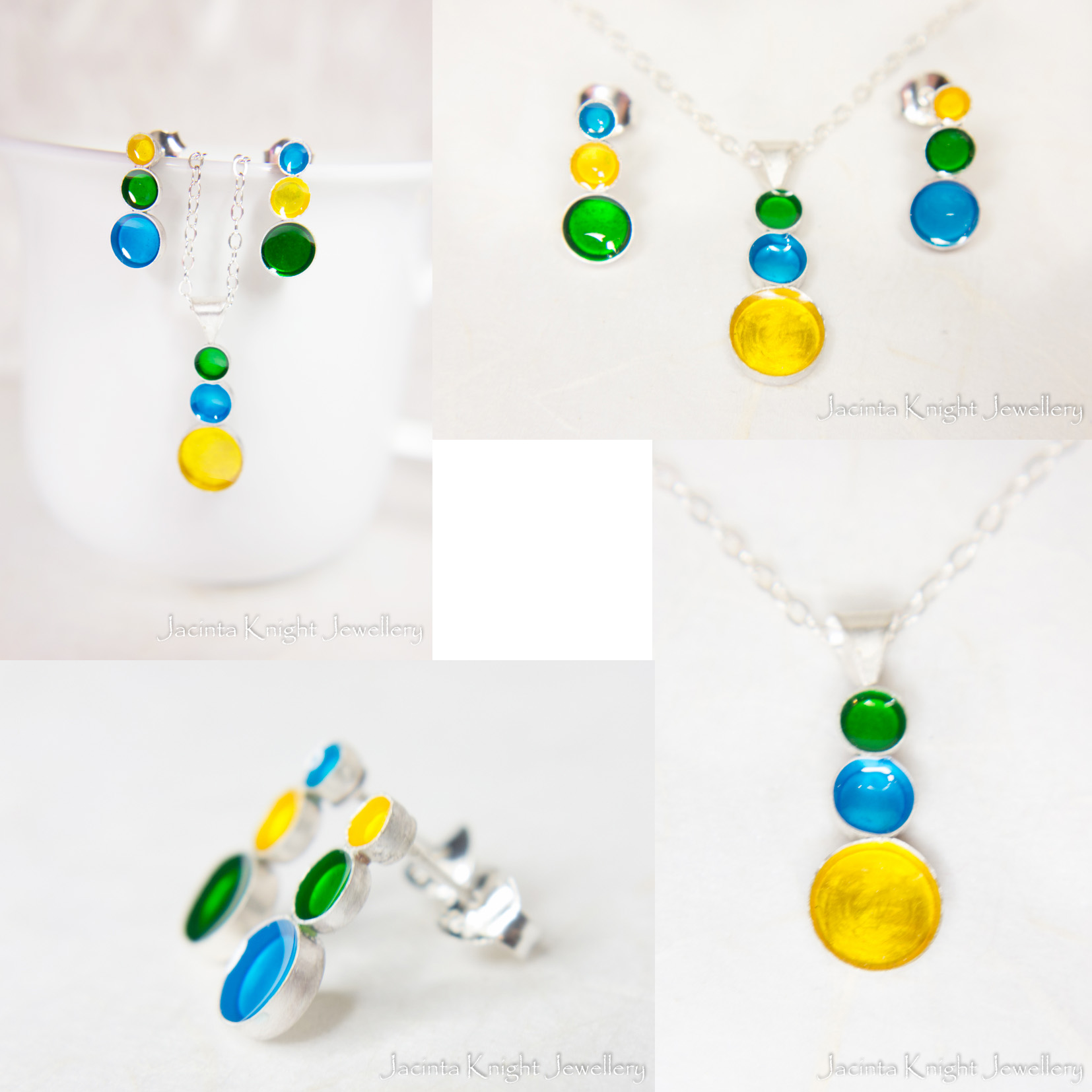 Earring and pendant set1