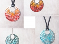 Flame pendants