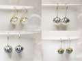 Pearl drop earrings1