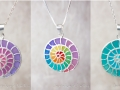Spiral pendants